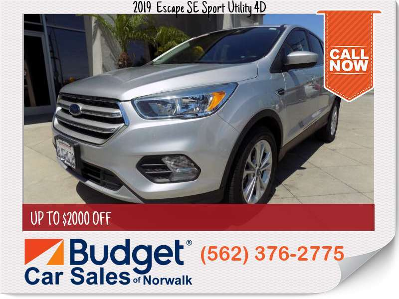 2019 Ford Escape SE Sport Utility 4D SE Sport Utility 4D for sale in Norwalk, CA - Los Angeles County