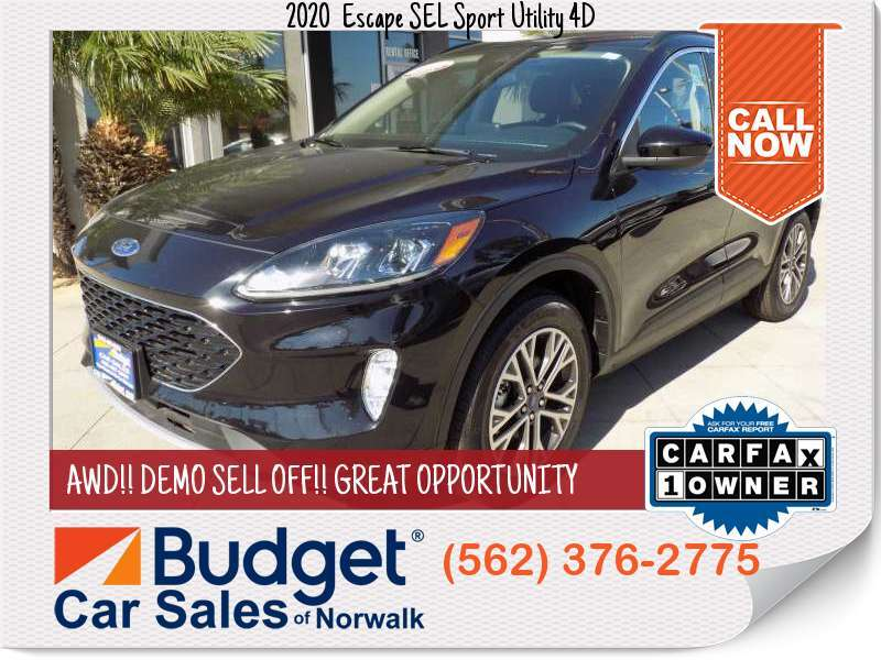 2020 Ford Escape SEL Sport Utility 4D SEL Sport Utility 4D for sale in Norwalk, CA - Los Angeles County