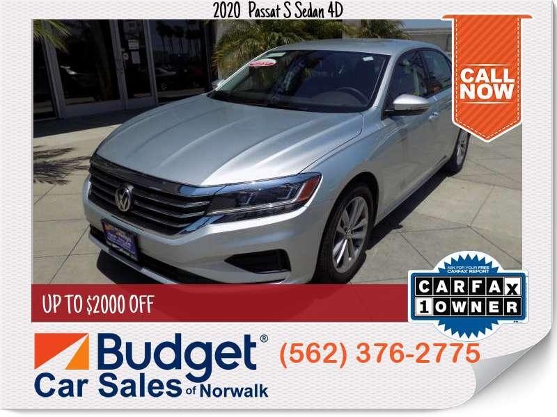 2020 Volkswagen Passat S Sedan 4D S Sedan 4D for sale in Norwalk, CA - Los Angeles County