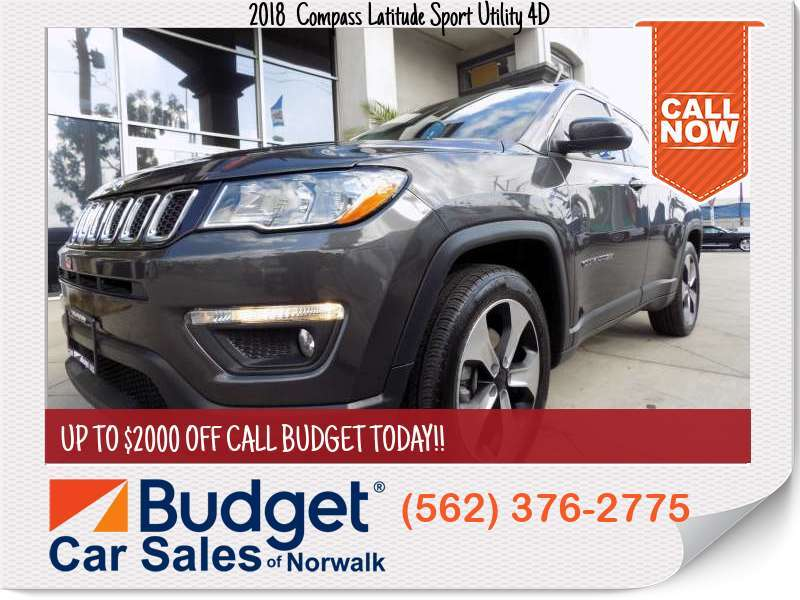 2018 Jeep Compass Latitude Sport Utility 4D Latitude Sport Utility 4D for sale in Norwalk, CA - Los Angeles County
